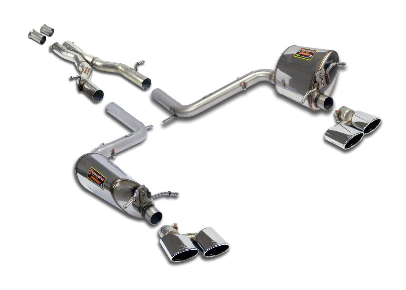 Best exhaust supersprint mercedes c204 c350 cgi v6 for Mercedes benz c300 exhaust
