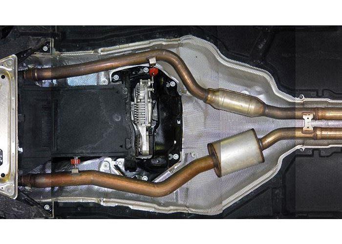 Bmw F15 F16 X5 X6 50i V8 Bi Turbo Front And Centre Pipes Kit