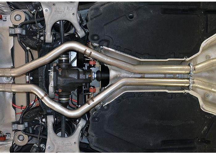 Bmw F15 F16 X5 X6 50i V8 Bi Turbo Resonated Front Centre Kit