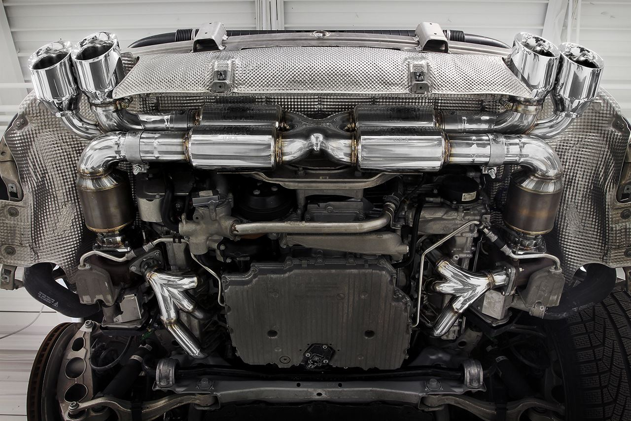 Best Exhaust Fabspeed Porsche 991 Turbo Supersport X Pipe Engine Diagram With Cats And Quad T