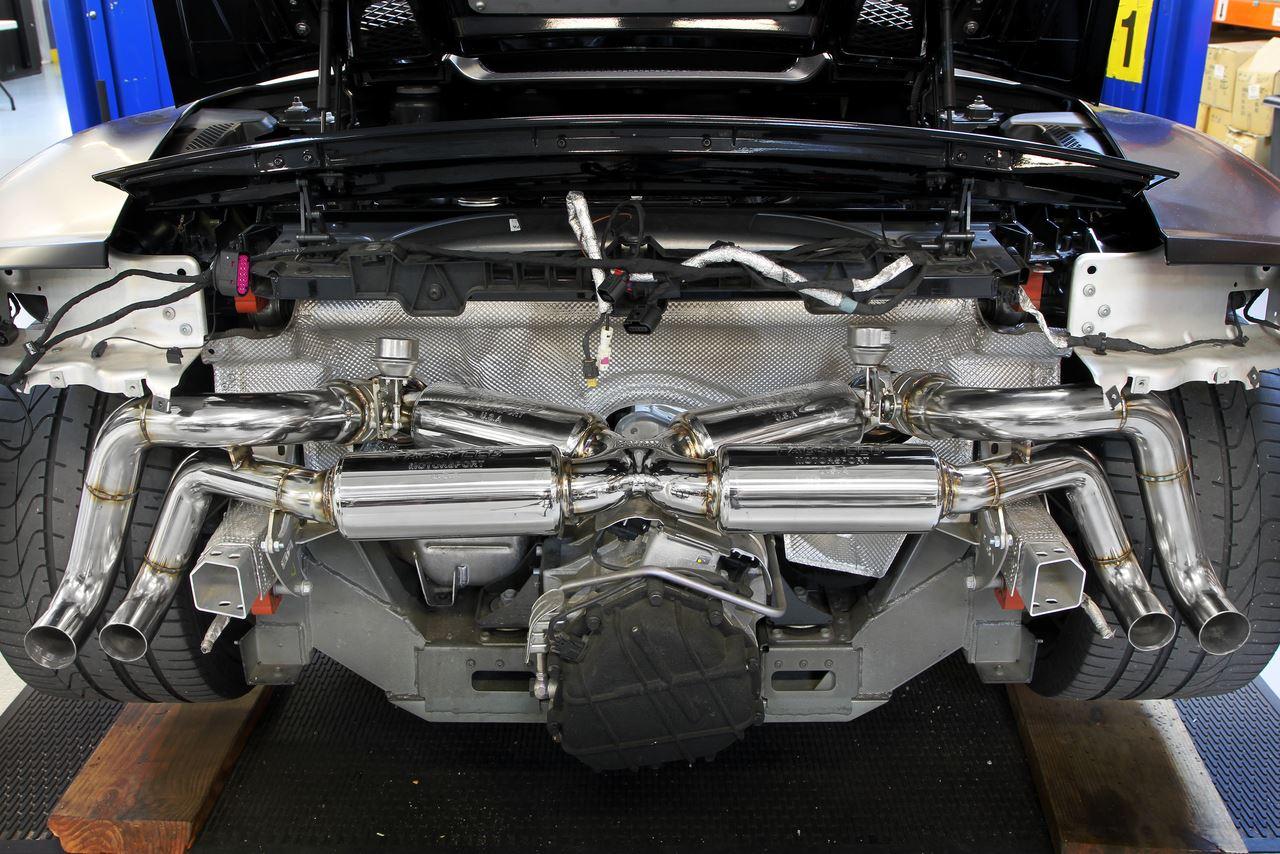 Best Exhaust Fabspeed Audi R8 V10 Valvetronic Supersport X Pipe