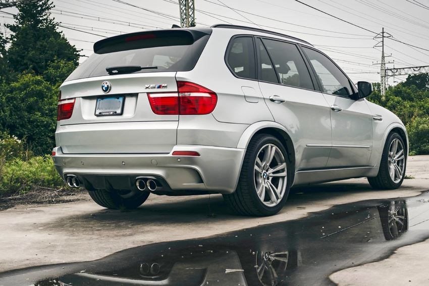 BMW X5M E70 Supercup Exhaust System - Polished tips