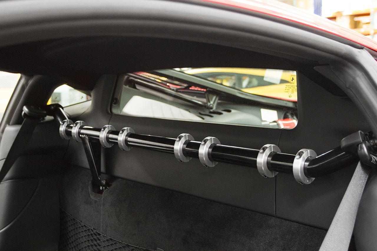 Best Exhaust - Fabsd Ferrari 488 Harness Bar & Mounting Kit FS ...