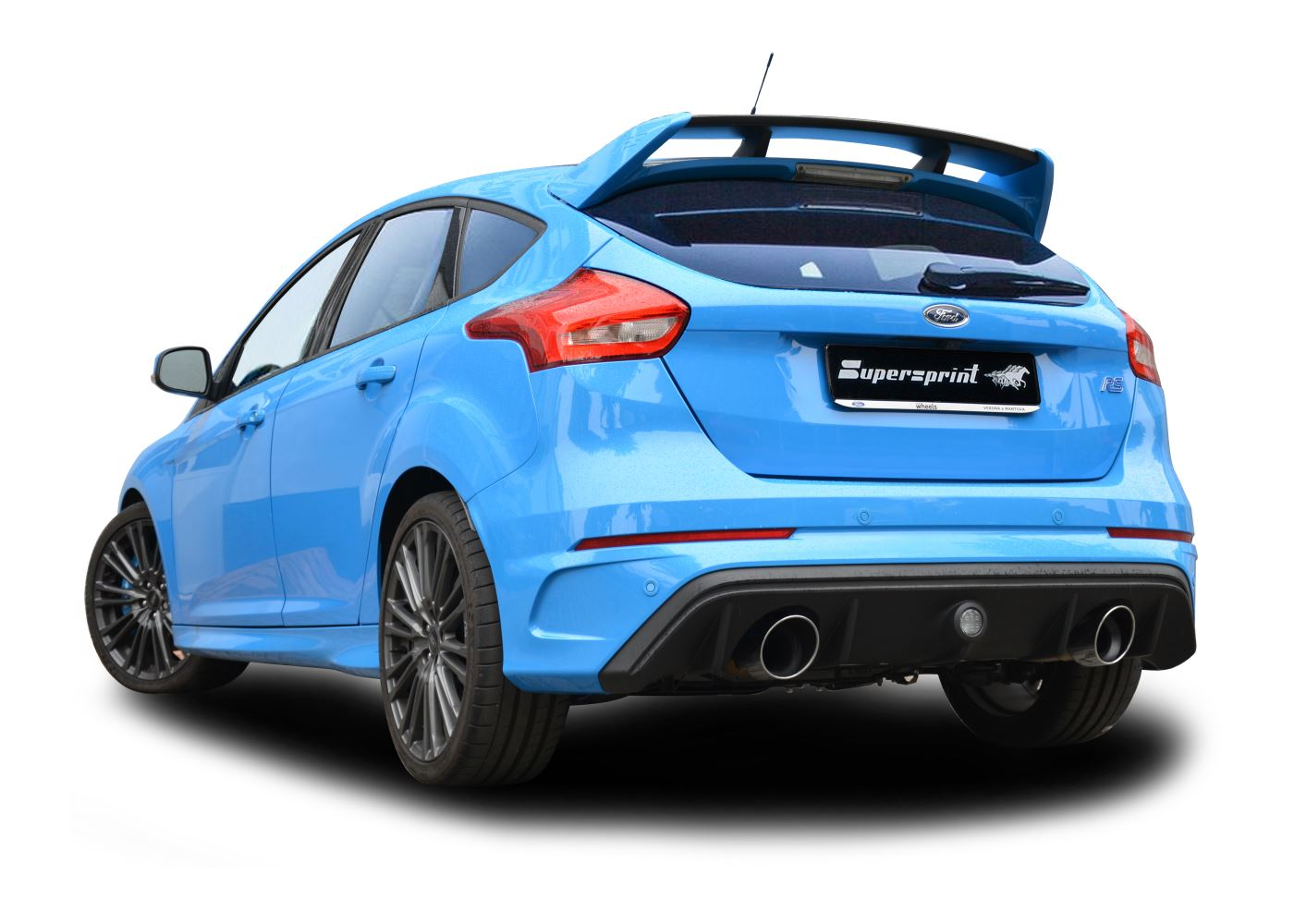 best exhaust supersprint ford focus rs turbo 4x4. Black Bedroom Furniture Sets. Home Design Ideas