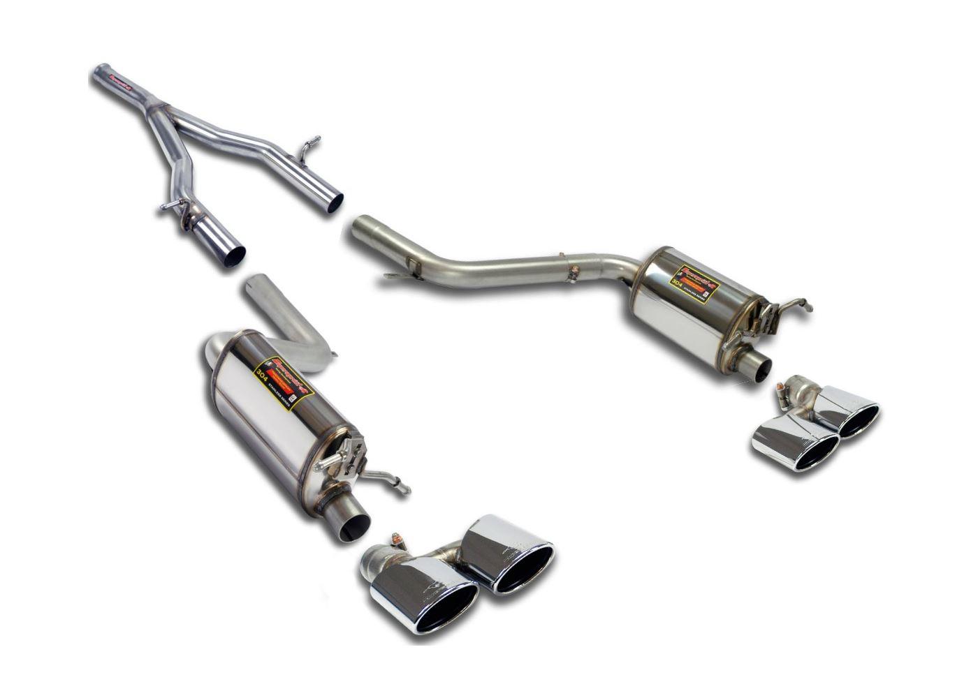 Best exhaust supersprint mercedes w204 c 250 cdi 204 hp for Mercedes benz c300 exhaust
