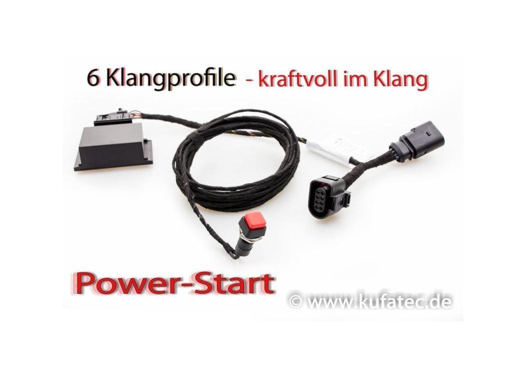 Soundbooster Pro Active Sound Audi A6 4G, A7 4G