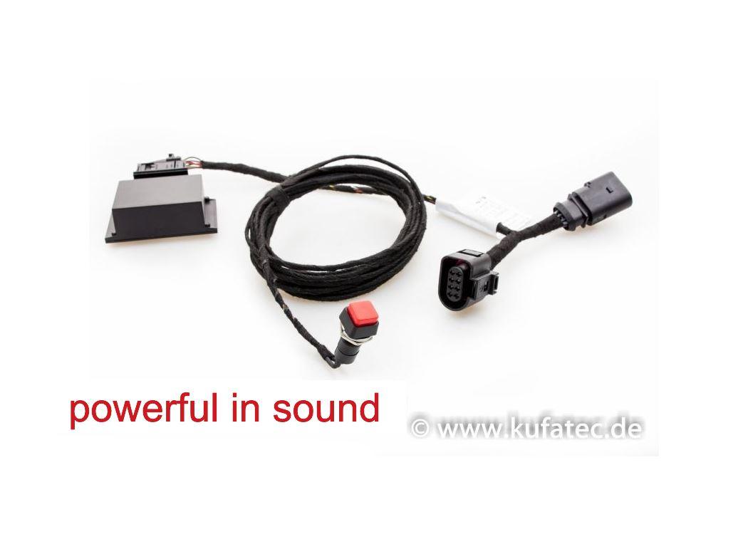 best exhaust kufatec soundbooster pro active sound audi. Black Bedroom Furniture Sets. Home Design Ideas