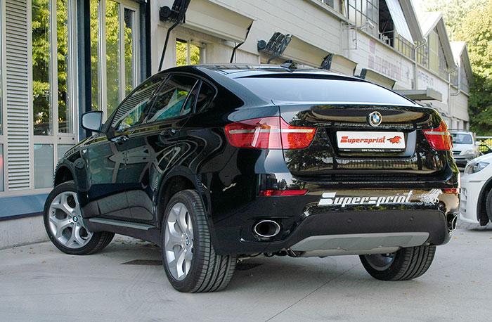Best Exhaust Supersprint Bmw E71 X6 Xdrive 35i Bi Turbo Rear
