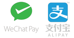 WeChat and Alipay