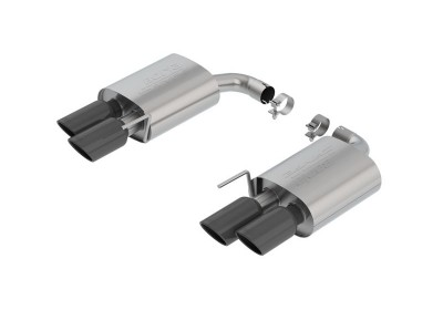 Ford Mustang GT 2018 Axle-Back Exhaust S-Type without Valve blac
