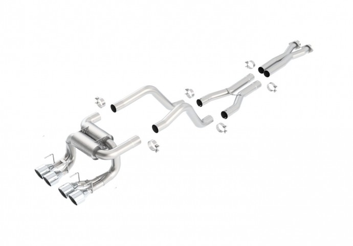 Chevy C6 Corvette Z06/ZR1 2006-2011 Cat-Back ATAK