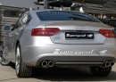 Audi A5/S5 rear exhaust quad OO90