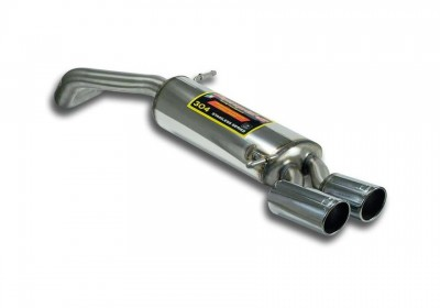 VW Polo 6c 1.4 TDI rear muffler OO 80mm