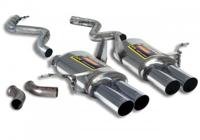 BMW M3 E90 Sedan Rear Exhaust \