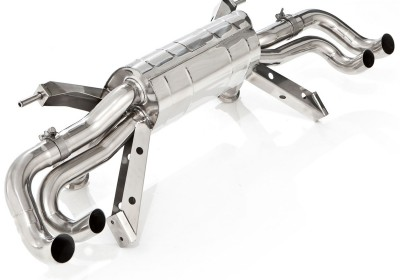 Gallardo LP550 LP560 LP570 exhaust with valves